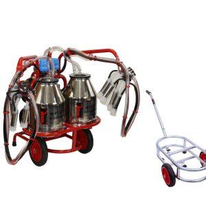 Twin Bucket electronic pulsator and trolley
