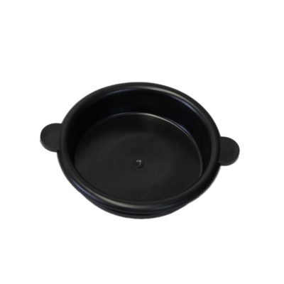Melasty, rubber milk bucket lid for 25 Lt/ 6.6 Gal milking buckets
