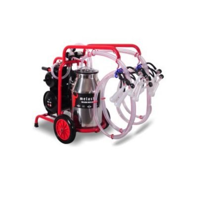 Melasty, Quadruple Milking Machine for Goats with Maintenance Kit Included Model TKKC4-PS