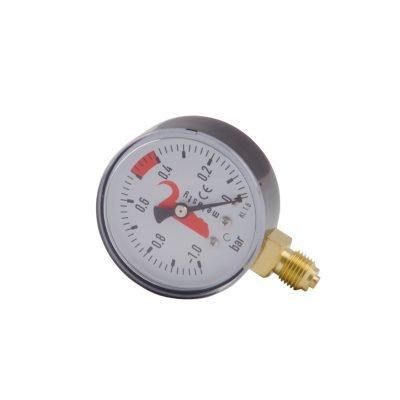 Melasty, Vacuum gauge for milking machine diameter of 2 1/2 Inches