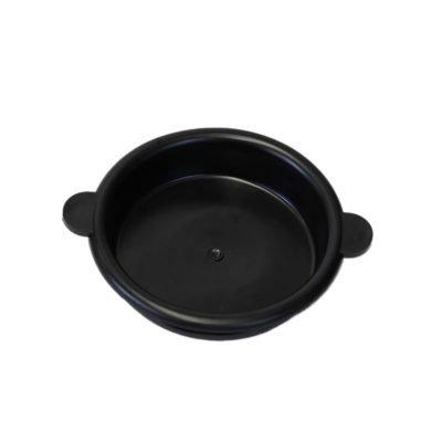 Melasty, rubber milk bucket lid for 30 Lt/ 8 Gal milking buckets