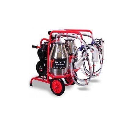 Quadruple Goat Twin Bucket Milker / Model TKKC4-2PS
