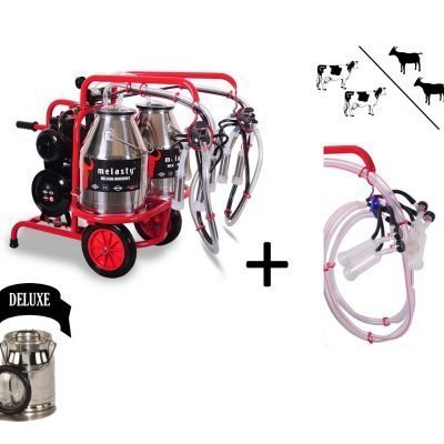 2 cow and 2 goat milking machine