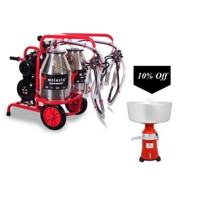 Cream Separator With TK2-2PS Double Cow Milker!