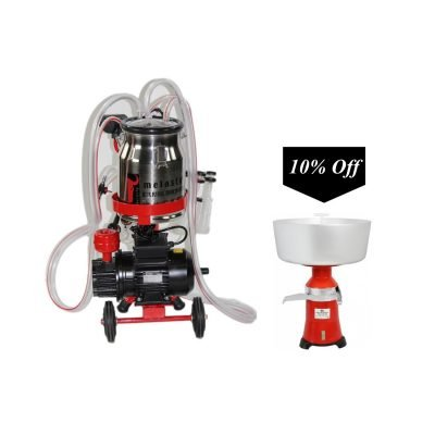Cream Separator With TKM1-PS Single Cow Milker