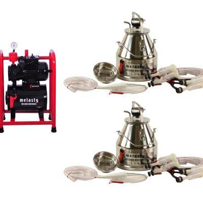 TKS-2GPS Fixed System Station 4 Goats (2 Milking Buckets)